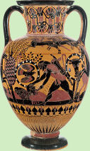 Griekse vaas rechts