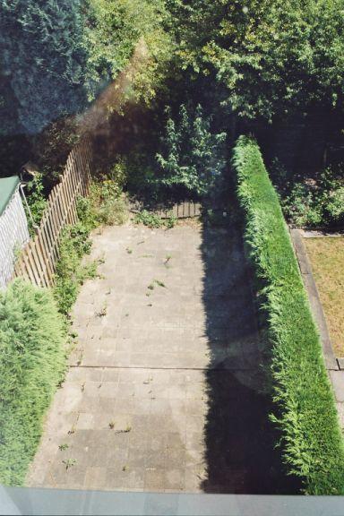De tuin in 2005
